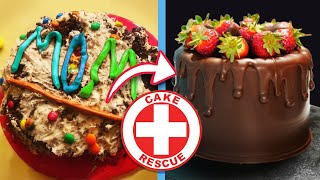 Cake Rescue from Failed It to Nailed It! | How To Cook That Ann Reardon