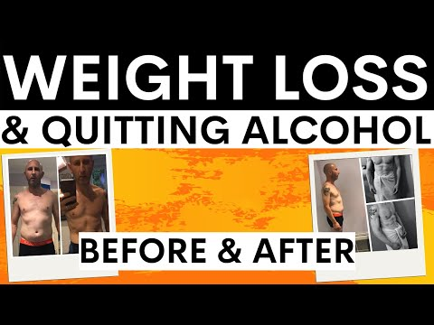 Quitting Alcohol & Weight Loss Simon Chapple talks about drinking and losing weight
