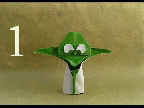 Origami Yoda Easy Tutorial - Star Wars Origami - YouTube   360x480