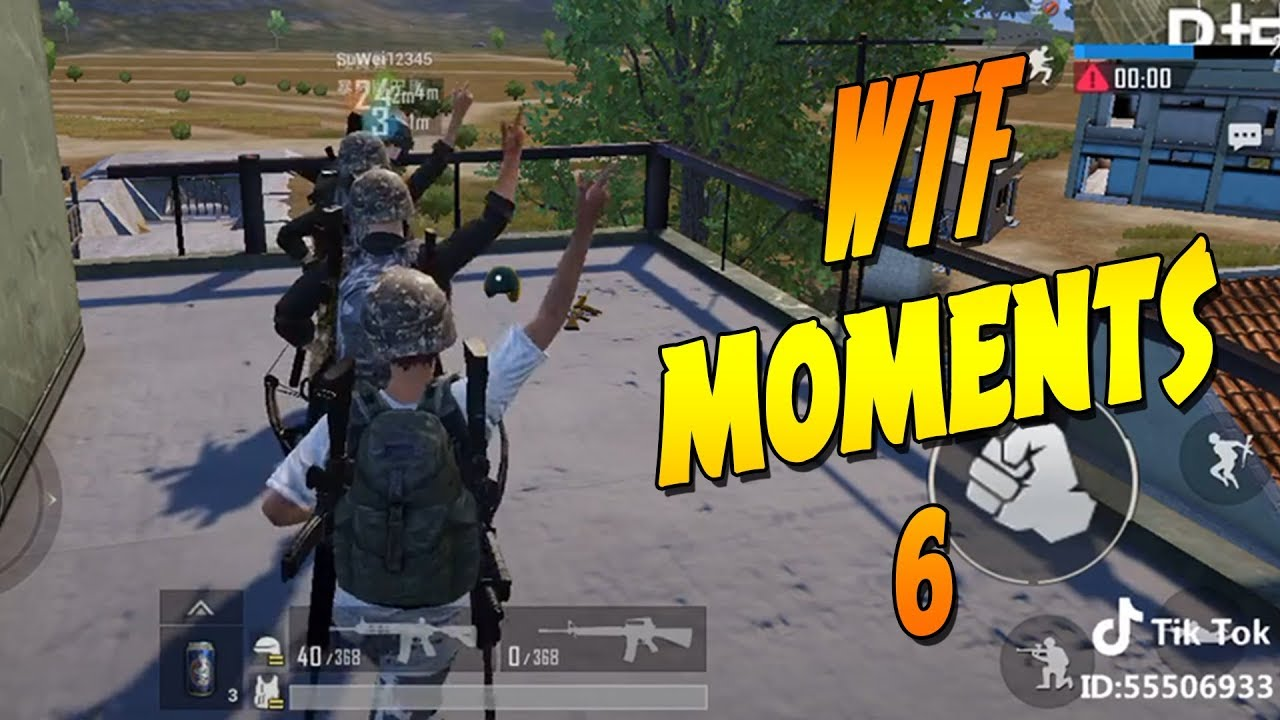 WTF PUBG MOBILE FUNNY MOMENTS EPIC FAIL #6