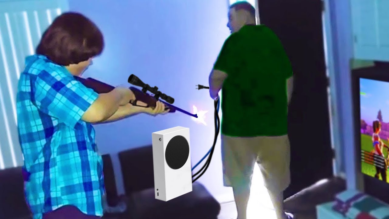 Download kid shoots dad after he takes PS5..