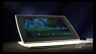видео Обзор планшета на Android Asus Eee Pad Slider с выдвигающейся клавиатурой