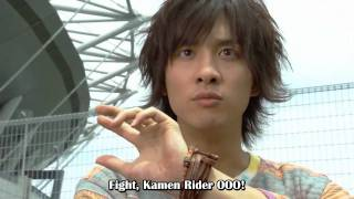 Kamen Rider OOO Trailer [Subbed]