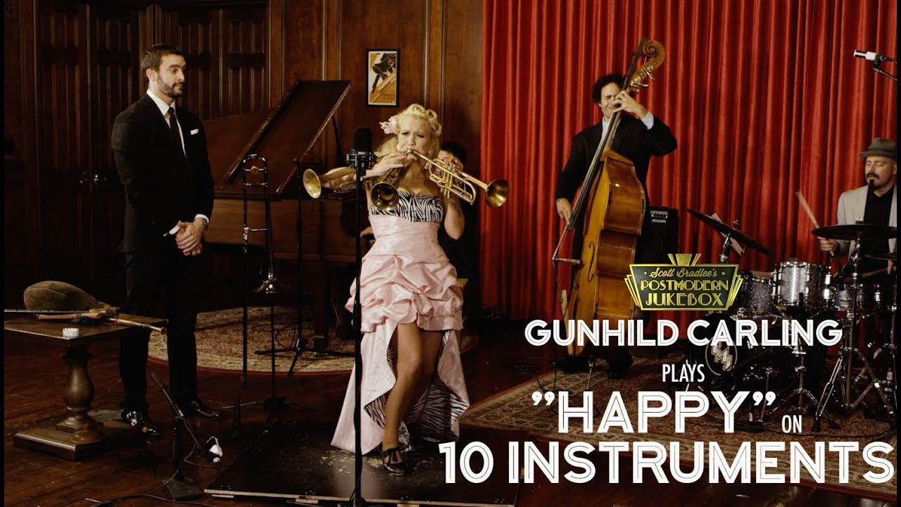 Happy - Pharrell Williams (on 10 Different Musical Instruments ...