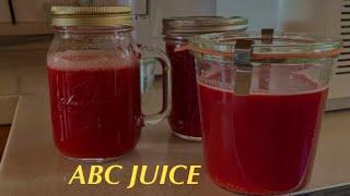 ABC쥬스 만들어 먹기 l 휴롬 착즙쥬스, 사과.당근.…