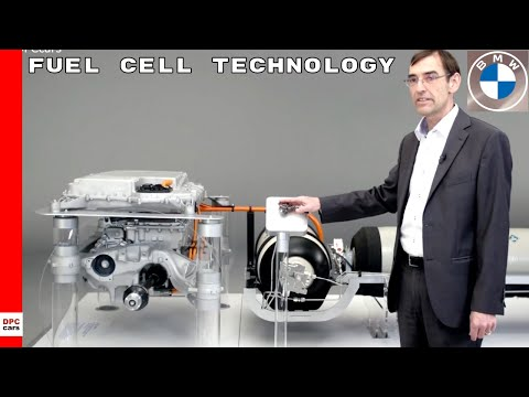 BMW i Hydrogen NEXT Fuel Cell Technology Powertrain Explained