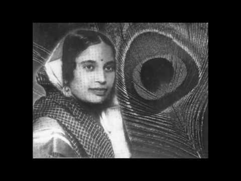 KAMALA JHARIA - Naghma e wahdat hai dahr mein gaaya tu ne -  Non film Ghazal (1932)