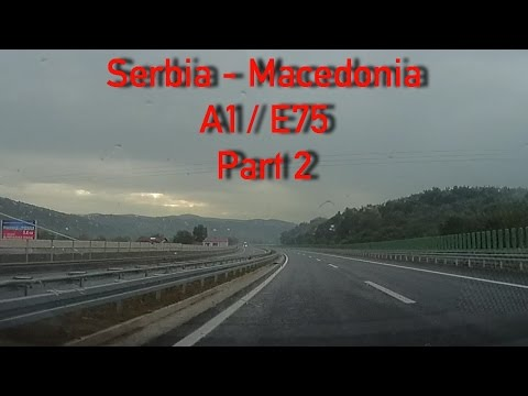 A1/E75 Smederevo - Macedonian border (Part 2)
