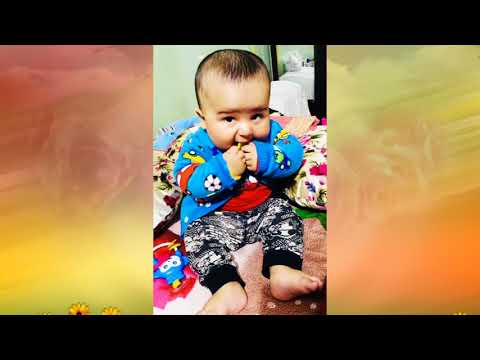 CUTE BABY BOY JAWWAD MASTI IN METRO WALK