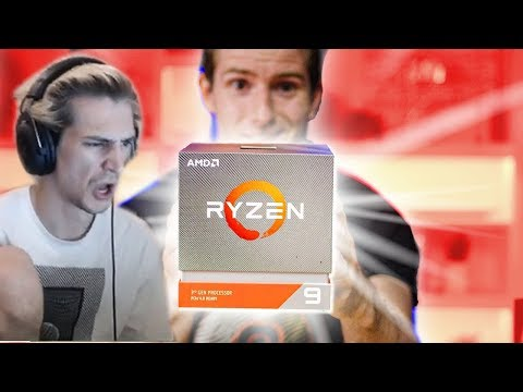 xQc Reacts to I had given up on AMD… until today - Ryzen 9 3900X & Ryzen 7 3700X Review