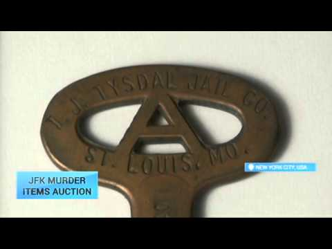 JFK Murder Items Auction: Items associated with assassination of Kennedy on the auction