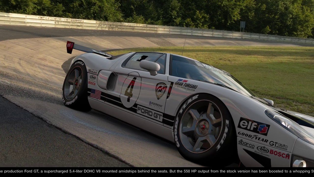 Gran Turismo Sport Ford Gt Lm Spec Ii Race Car Scapes