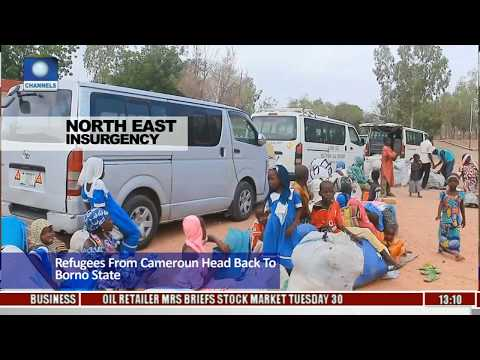 Refugees From Cameroon Head Back To Borno State