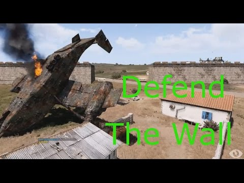 Defending the great Wall of China: Arma 3 Exotic Zeus ops