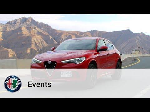 Alfa Romeo   Stelvio Quadrifoglio – The best of the Dubai International Media Drive