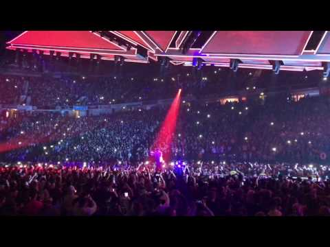 Six Feet Under - The Weeknd live Manchester Arena Starboy tour 5th March 2017