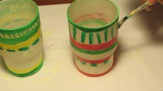 Стаканчики для зубных щеток (обновим своими руками)(, 2017-04-06T06:12:05.000Z)