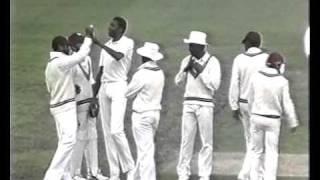 3 KILLER YORKERS West Indies v Australia 3rd test 1988 MCG