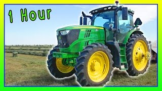 Tractors for Children – 1 hour of Machines for Kids Collection