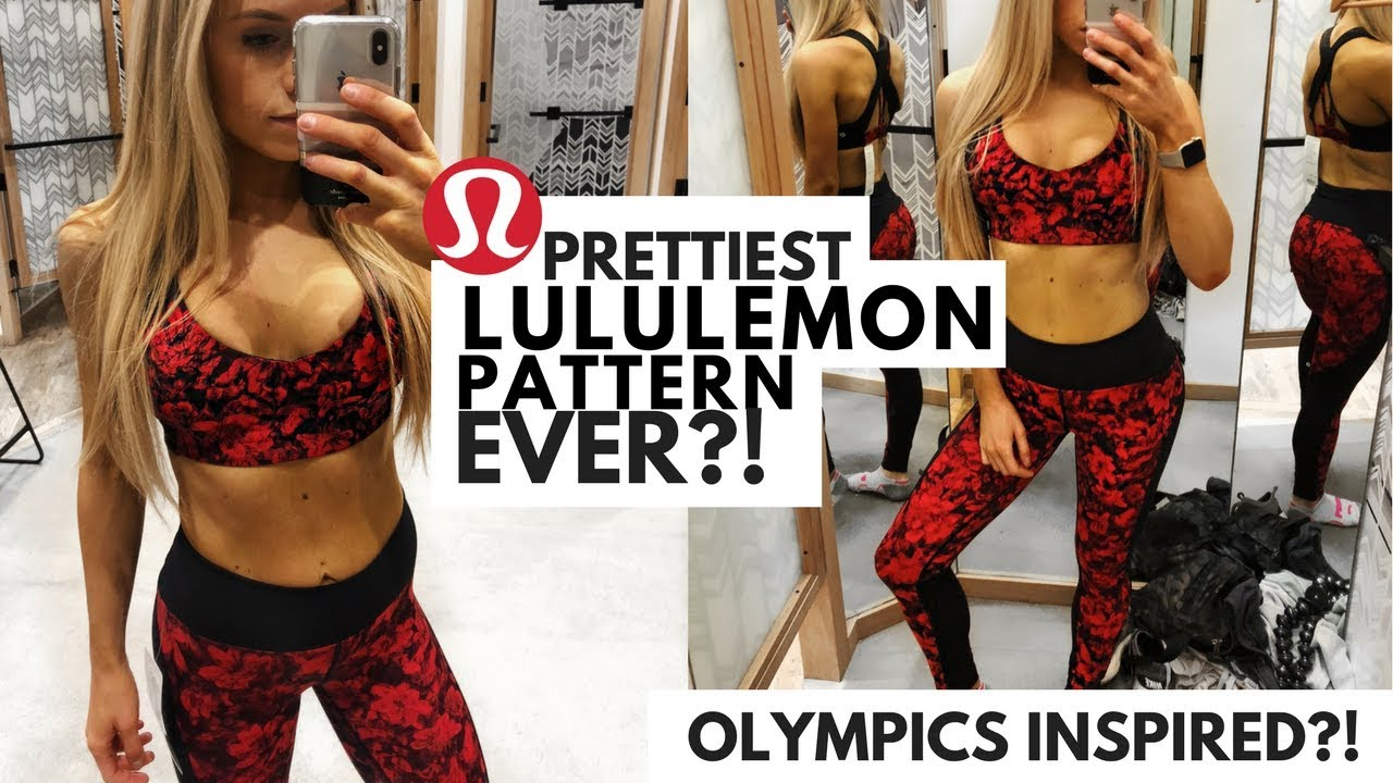 f24a71a92c Lululemon Sweat Times Bra Try On   Review - YouTube