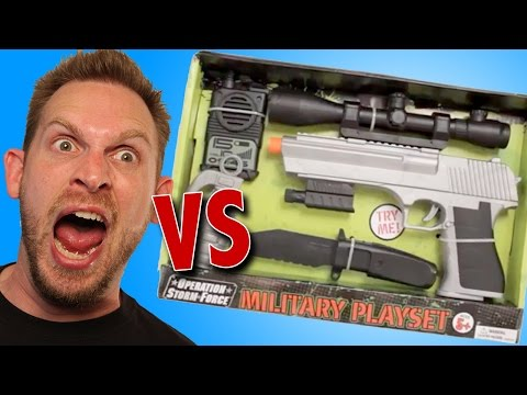 Operation Storm Force Military Playset Unboxing
