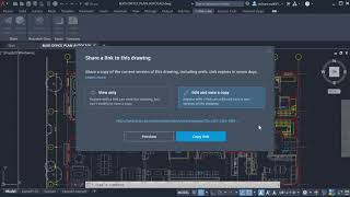 Introducing the Share feature   AutoCAD 2022