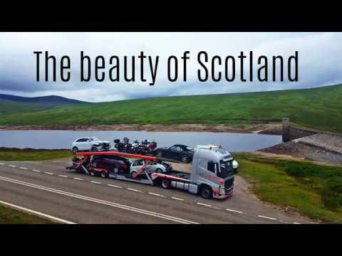 The Beauty Of Scotland Trucking 4K