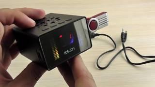 ОБЗОР: Компактная Колонка с FM и USB