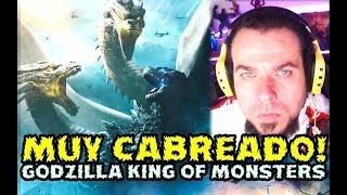 MUY CABREADO CON GODZILLA KING OF THE MONSTERS!  NOTICIAS GEEK  - FYD COMICS Y CINE - español