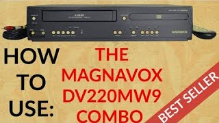 MAGNAVOX DVD VCR 2-IN-1 COMBO PLAYER DV220MW9 PRODUCT DEMO