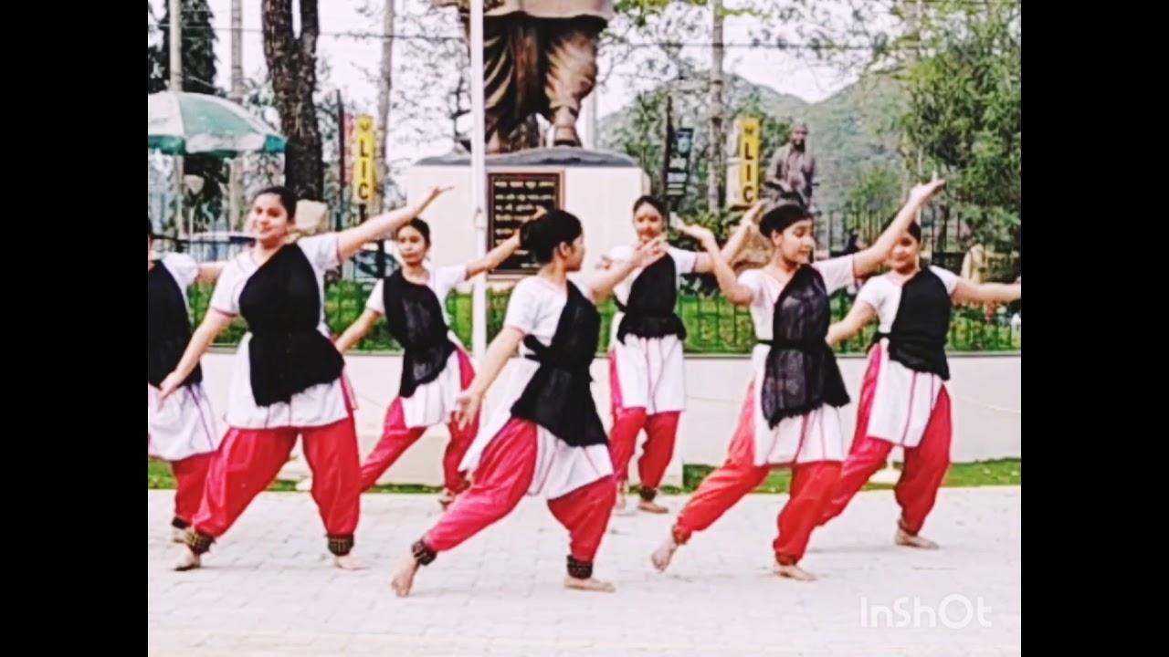 Saraswati Vandana By Pushpanjali Cultural Academy