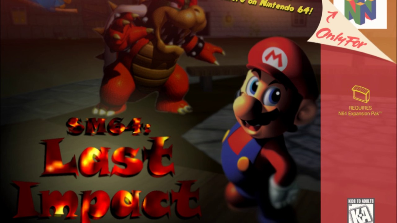 Super Mario 64: Last Impact Soundtrack - Title Screen