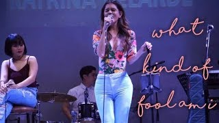 REGINA OTIC - What Kind Of Fool Am I (The MusicHall Metrowalk | November 14, 2018) #HD720