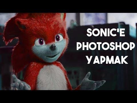 Sonic'in Fragmandaki Görüntüsünü Photoshop ile Düzeltmek