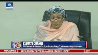 News@10: Buhari Seeks United Action Against Terror 11/11/16 Pt. 1