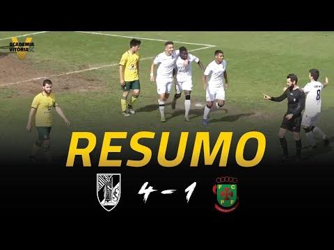 SUB 19 | Vitória SC 4-1 FC P.Ferreira