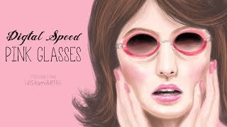 DS Pink Glasses