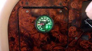 Glow Shift Fuel Pressure Gauge Install Part 2