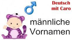 55 männliche Vornamen - 55 nomes masculinos (pt-br)