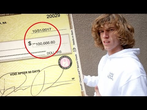My First $100,000 Paycheck!