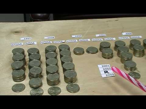 Найдите редкие рубли 1997, 1998, 1999, 2001, 2002, 2003, 2005-2016 Цены. Браки. Каталог.