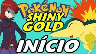 Pokémon Shiny Gold (Detonado - Parte 1) - Início com Cyndaquil