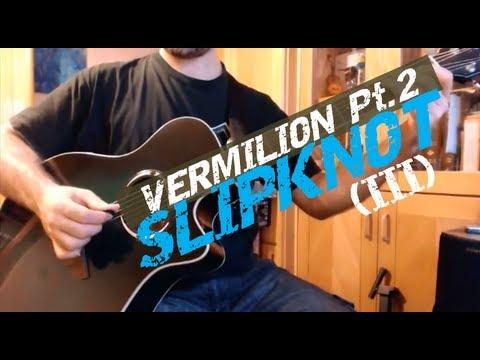 Vermilion Pt 2 (Slipknot). Lead Guitar Tutorial by Joe Moreg
