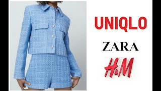 Шоппинг Влог Uniqlo Zara H M Новинки Весны