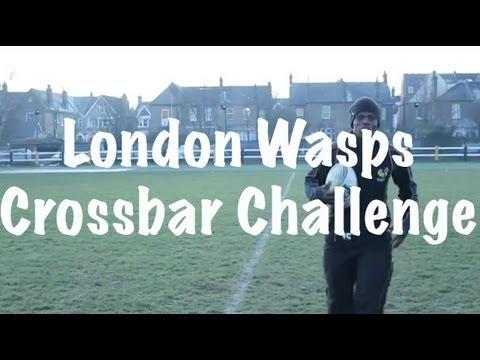 London Wasps Crossbar Challenge HIT!
