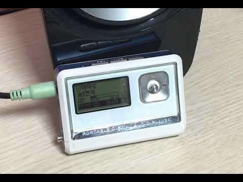 코원 MP3 iAUDIO G3 작동 영상
