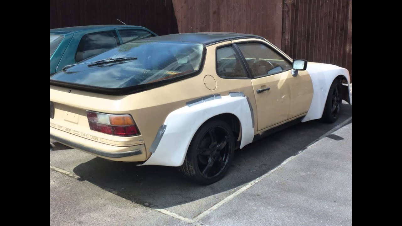 Porsche 924 Gt Carrera Body Kit Youtube