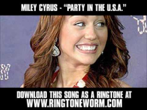 Miley Cyrus  Party In The USA  New  + Lyrics + Download