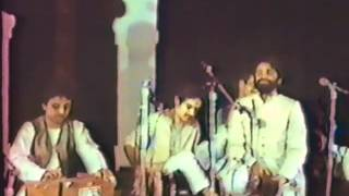 """Afroz Taj sings """"Mariz-e Mohabbat"""" in Qawwali Ki Raat, Ann Arbor Michigan"""