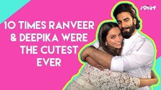 iDIVA - 10 Times Deepika Padukone & Ranveer Singh Were The Cutest | Best Deepveer Moments